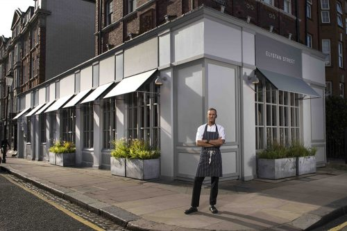 Phil Howard opens new restaurant Elystan Street